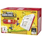 Nintendo 2DS White-Red + New Super Mario Bros. 2 Special Edition