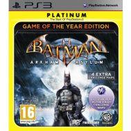 Batman: Arkham Asylum Game of the Year Edition Platinum
