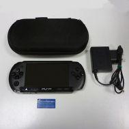 Sony PSP E1004 Street Black + Memory Card 4GB + Case