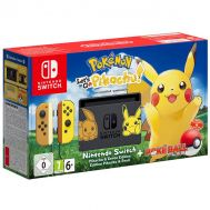 Nintendo Switch Pokemon: Let's Go, Pikachu! Bundle