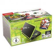 New Nintendo 2DS XL Black & Lime Green + Mario Kart 7