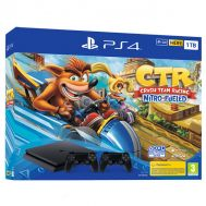Sony PS4 Slim 1TB + Crash Team Racing Nitro-Fueled + 2nd Controller