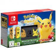 Nintendo Switch Pokemon: Let's Go, Pikachu! Bundle