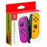 Nintendo Switch Joy-Con Pair Neon Purple & Neon Orange