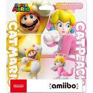 Nintendo amiibo Super Mario - Cat Mario & Cat Peach Figures