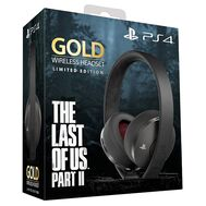 Sony Gold Wireless Headset The Last of Us Part II Limited Edition