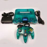 Nintendo 64 Translucent Aqua
