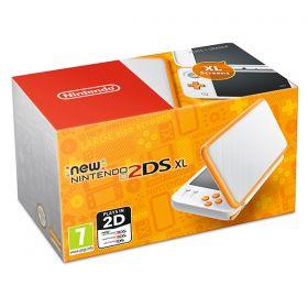 New Nintendo 2DS XL White & Orange