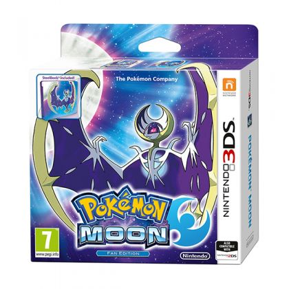 Pokemon Moon Steelbook Edition