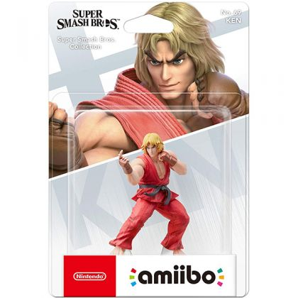 Nintendo amiibo Super Smash Bros. - Ken Figure No.69