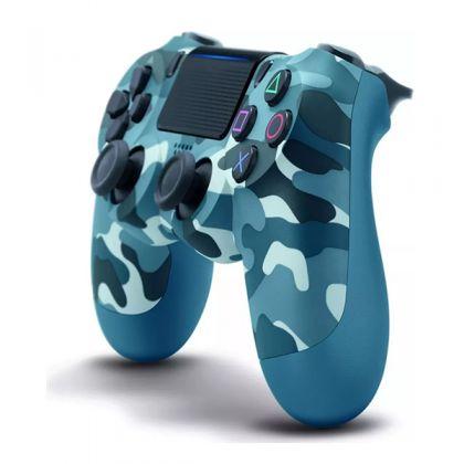 Sony Dualshock 4 Wireless Controller V2 Blue Camouflage
