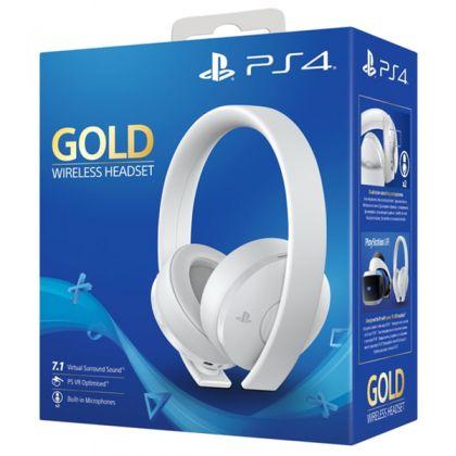 Sony Gold Wireless Headset White