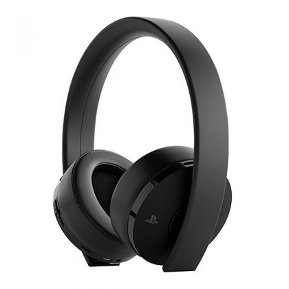 Sony Gold Wireless Headset Black