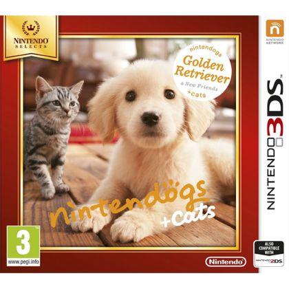 Nintendogs + Cats: Golden Retriever & New Friends Selects