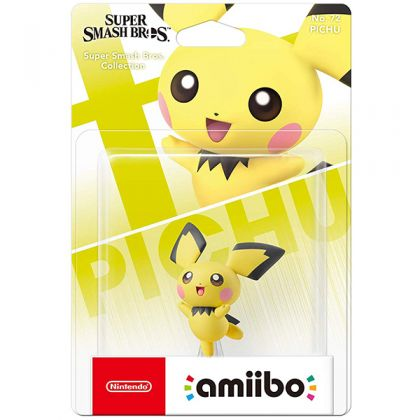 Nintendo amiibo Super Smash Bros. - Pichu Figure No.72