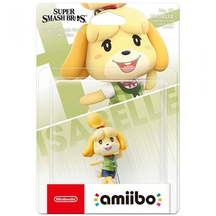Nintendo amiibo Super Smash Bros. - Isabelle Figure No.73