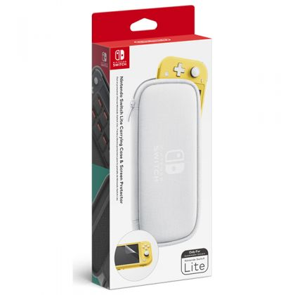 Nintendo Switch Lite Carrying Case & Screen Protector