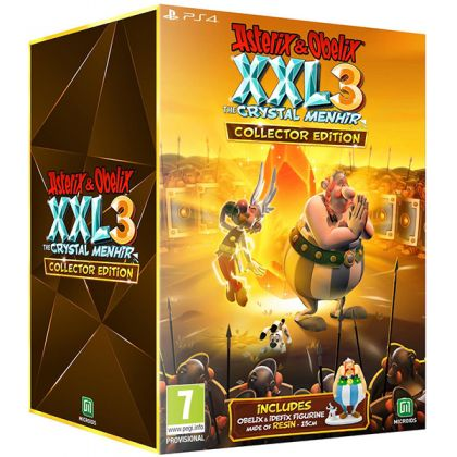 Asterix & Obelix XXL 3: The Crystal Menhir Collector's Edition