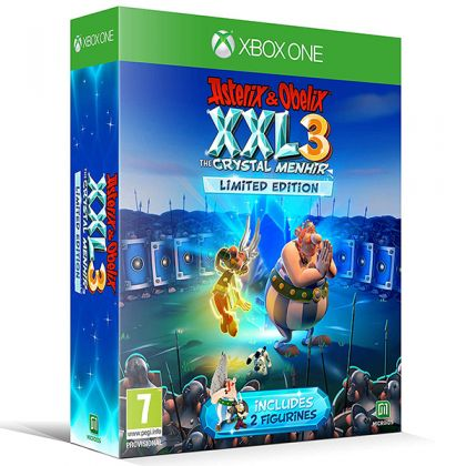Asterix & Obelix XXL 3: The Crystal Menhir Limited Edition