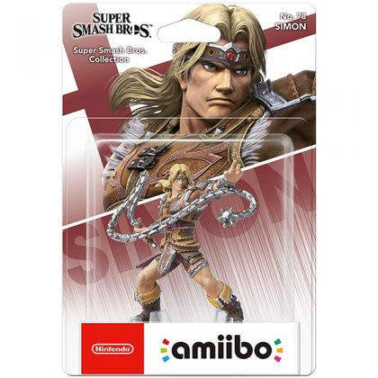 Nintendo amiibo Super Smash Bros. - Simon Figure No.78
