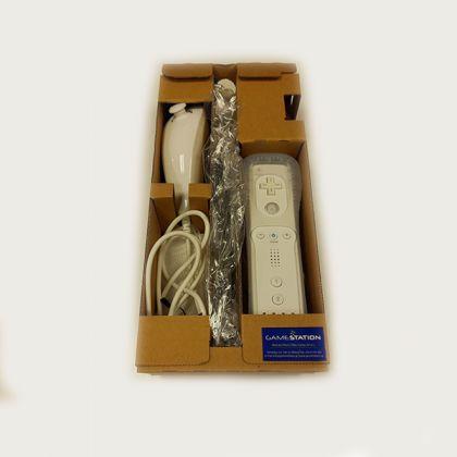 Nintendo Wii Remote Plus Additional Set White