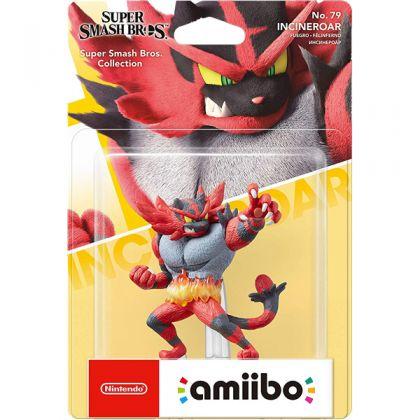 Nintendo amiibo Super Smash Bros. - Incineroar Figure No.79