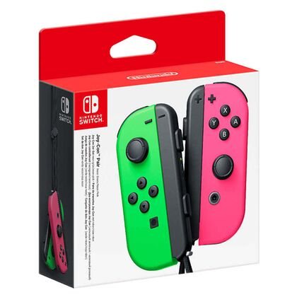 Nintendo Switch Joy-Con Pair Neon Green & Neon Pink