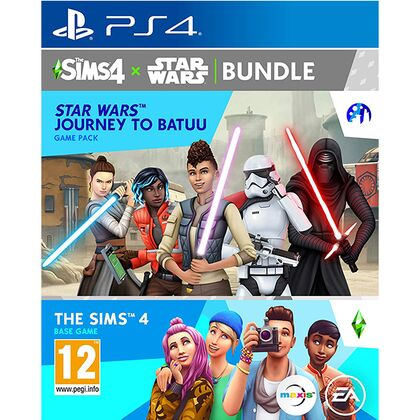 The Sims 4 + Star Wars: Journey to Batuu Game Pack Bundle