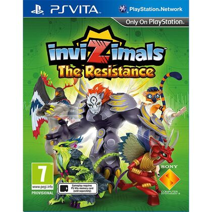 Invizimals: The Resistance Ελληνικό - No Box