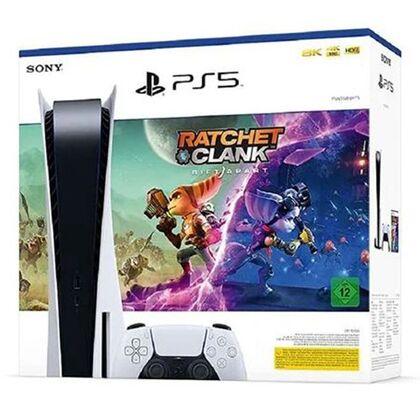 Sony PS5 825GB + Ratchet & Clank: Rift Apart Με Ελληνικούς Υπότιτλους