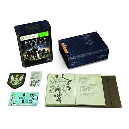 Halo: Reach Limited Edition - Γερμανικό Εξώφυλλο